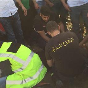 بالصور: قتيلان و4 جرحى وشخص مفقود مقابل الروشة
