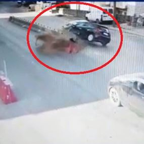 بالفيديو: لحظة حصول حادث سير مروّع في قرنة شهوان