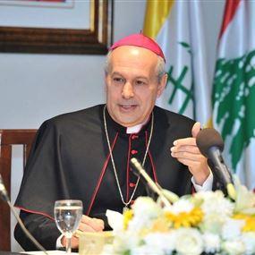 نقل السفير البابوي من لبنان إلى الفيليبين