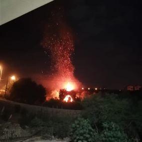مقتل سابين الخوري إثر تدهور سيارتها على طريق عمشيت