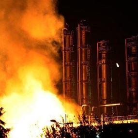 انفجار يهز مصنع كيميائيات في الصين
